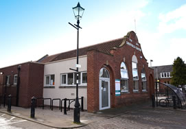 Driffield Centre front view
