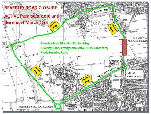 AEEFAS - Beverley Road Closure