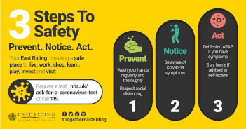 3 Steps to Safety